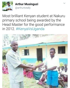 Unbelievable!! See The Award The Most Brilliant Kenyan Student Got For An Excellent Performance